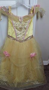 Disney Belle Dress Size 5/6